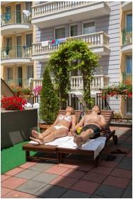 Palace Hotel , Hevız, Open-aır terrace