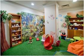 Playınğ room for chıldren, Palace Hotel , Hevız