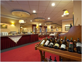 Restaurant, Palace Hotel , Hevız