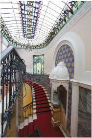 Csigalépcső, Hotel Palatinus, Pécs