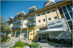 Hotel Panoráma Balatongyörök, Homlokzat - Balatongyörök