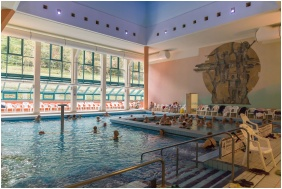 Hunguest Hotel Panorama, Heviz, Covered pool