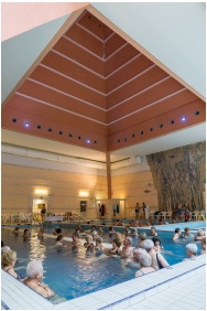 Inside pool - Hunguest Hotel Panorama