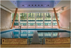 Hunguest Hotel Panorama, Heviz, Inside pool