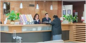 Hunguest Hotel Panoráma, Recepció - Hévíz