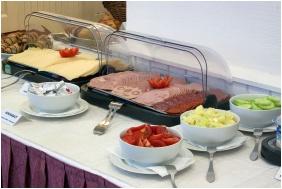 City Hotel Pilvax, Breakfast - Budapest