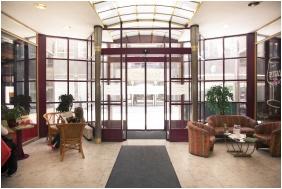 City Hotel Pilvax, Reception area