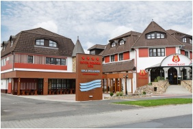 Hotel Piroska, Épület - Bük, Bükfürdô