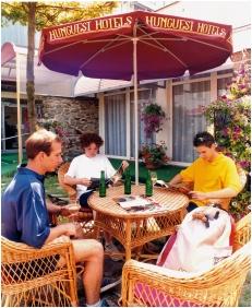 Inner garden - Hunguest Hotel Repce