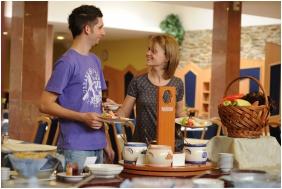 Hunguest Hotel Repce, Breakfast