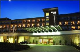 Épület este, Hunguest Hotel Répce Gold, Bük, Bükfürdô