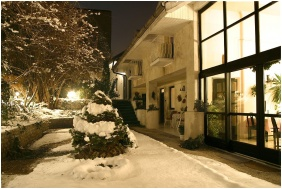 In the winter - Hotel Romantik