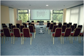 "Rubin Wellness and Conference Hotel - Budapest, Meeting room ""Aquamarin"""