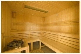 Finse sauna - Rubin Wellness and Conference Hotel