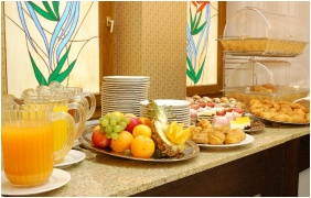 Rubin Wellness and Conference Hotel, Buffet breakfast