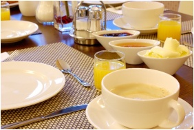 Rubin Wellness and Conference Hotel, Budapest, Breakfast