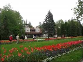 In the Spring, Hotel Sante, Heviz