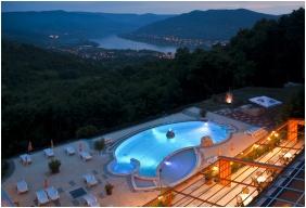 Silvanus Wellness & Konferencia Hotel, Visegrád, Külső medence