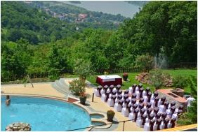 Hotel Silvanus Wellness & Conference, Terrace - Visegrad