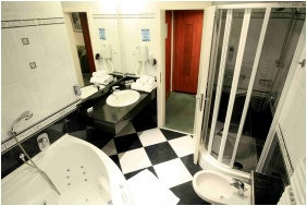 Bathroom, Hotel Slver, Hajduszoboszlo