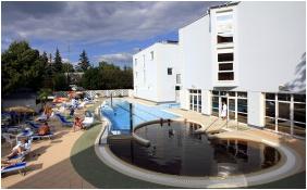 Hotel Slver, Hajduszoboszlo, Exteror vew