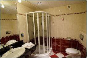Hotel Slver, Hajduszoboszlo, Bathroom