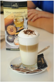 Coffee shop, Hotel Slver Resort, Balatonfured