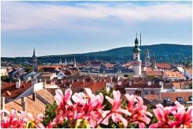 Hotel Sopron, Aussicht auf den Garten - Sopron
