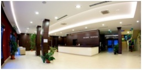 Reception area - Airport Hotel Stacio Wellness & Conference