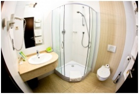 Airport Hotel Stacio Wellness & Conference, Vecses, Bathroom
