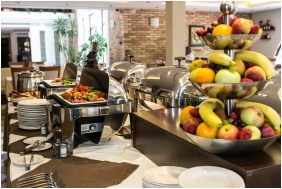 Restaurant, Airport Hotel Stacio Wellness & Conference, Vecses