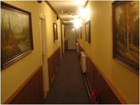 Corridor, Hotel Swing City, Budapest