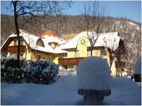 Hotel Szeleta, In the winter - Lillafured