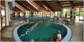 Hotel Touring Berekfurdo, Berekfurdo, Inside pool