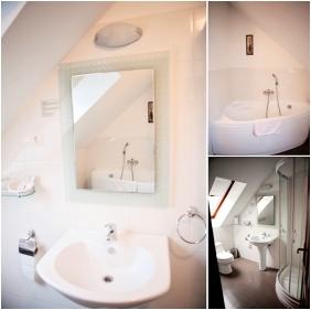 Bathroom, Hotel Vlla Natura, arabonc