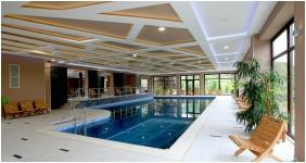 Hotel Villa Volgy, Inside pool - Eger