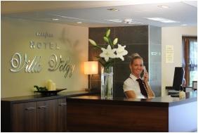 Hotel Villa Volgy, Eger, Reception