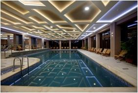 Hotel Villa Volgy, Eger, Inside pool