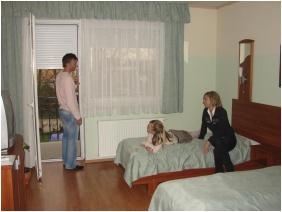 Hotel Wolf, Sleeping room - Sarvar