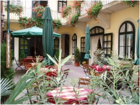 Hotel Wollner, Terrace - Sopron