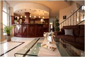 Recepció, Hotel Xavin, Harkány