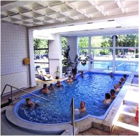 Hunguest Hotel Hoforras, Hajduszoboszlo, Inside pool