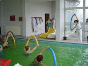 Therapeitic exercises, Hunguest Hotel Hoforras, Hajduszoboszlo