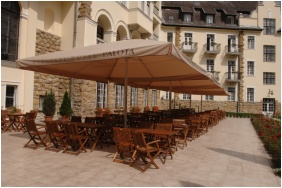 Terrace, Hunguest Hotel Palota, Lillafured