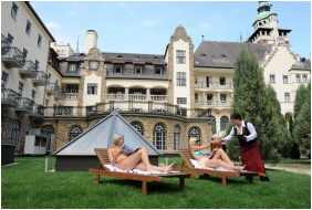 Hunguest Hotel Palota, Deckchairs - Lillafured