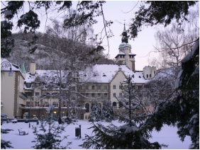 Hunguest Hotel Palota, In the winter - Lillafured