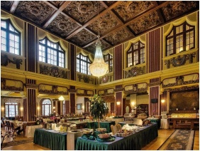 Reggelizőterem, Hunguest Hotel Palota, Lillafüred