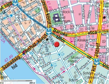 karta över budapest centrum Ibis Budapest Centrum Hotel   Belägenhet och karta   Online  karta över budapest centrum