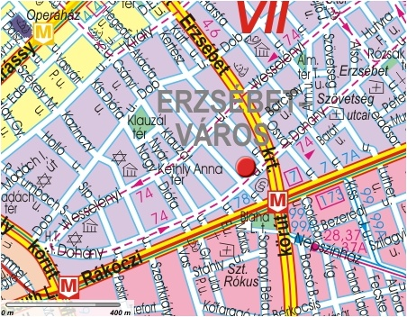 Ibis Budapest City Hotel Location And Map Located In