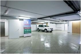 Onderaards garage, Hotel Jagello, Boedapest